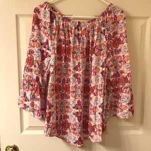 new directions Tops - EUC New Directions Boho Top